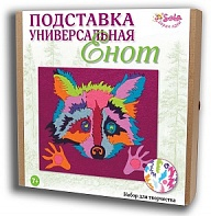 "Felt puzzles and appliques Universal stand ""Racсoon"""